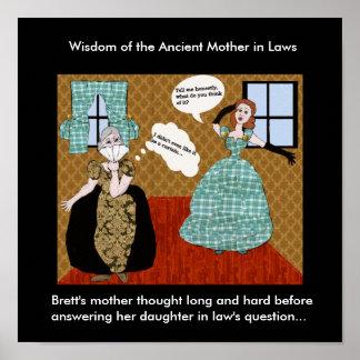 El largos pensada madre de Brett y difícilmente…. Posters