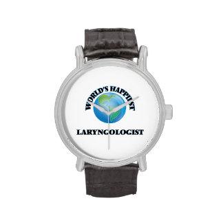 El Laryngologist más feliz del mundo Relojes