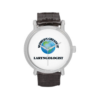 El Laryngologist más grande del mundo Reloj