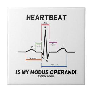 El latido del corazón es mi modus operandi (el ele tejas