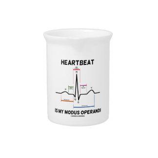 El latido del corazón es mi modus operandi (el jarras de beber
