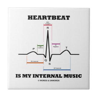 El latido del corazón es mi música interna (ECG/EK Azulejos Cerámicos