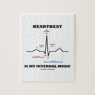 El latido del corazón es mi música interna puzzle