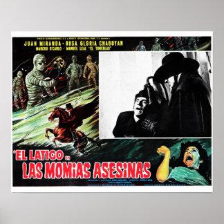 El Latigo Contras Las Momias Asesinas Poster