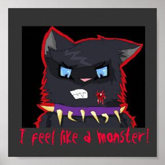 ¡El látigo siente como un monstruo! Impresiones