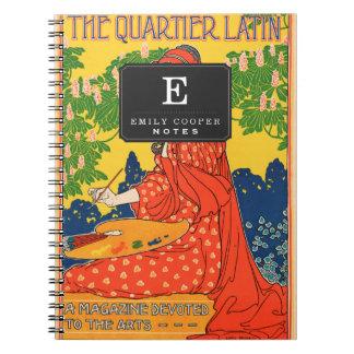 El latín de Quartier. Una revista dedicada a los Libro De Apuntes