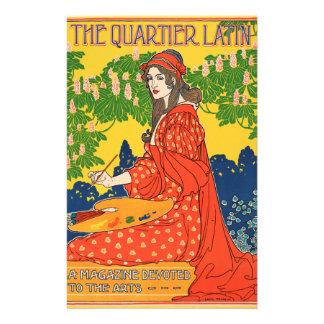 El latín de Quartier. Una revista dedicada a los Personalized Stationery