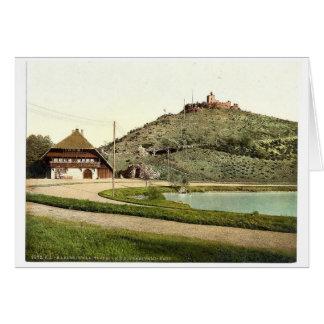 El Lauterberg con la casa de Swartzwald, Karlsruhe Felicitacion
