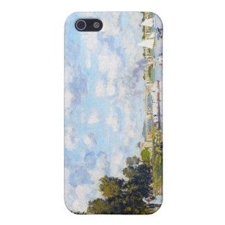 El lavabo en Argenteuil Claude Monet iPhone 5 Fundas