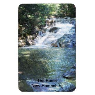 El lavabo - imán de New Hampshire