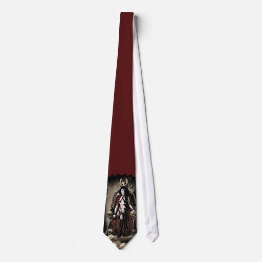 El lazo 2 del vampiro de la custodia corbatas personalizadas