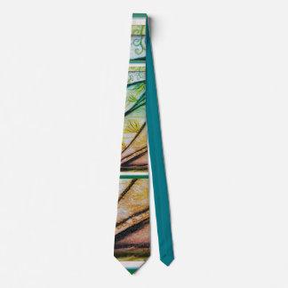 el lazo de las plumas corbata