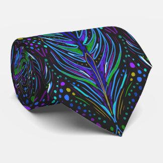 el lazo de los hombres de la corbata de la pluma