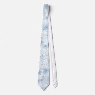 El lazo de los hombres de los copos de nieve corbata