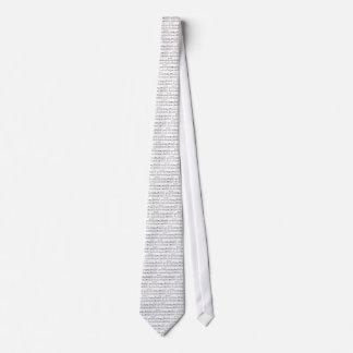 El lazo de no. 9 de la sinfonía corbata personalizada