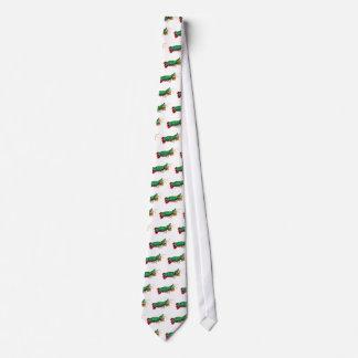 El lazo del camarón de predicador del pavo real corbatas personalizadas