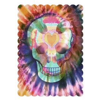 """El lazo del cráneo del azúcar muere belleza de los invitación 5"""" x 7"""""""