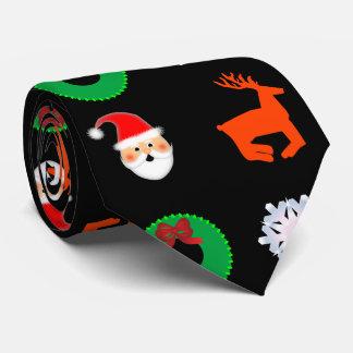 El lazo del navidad corbata