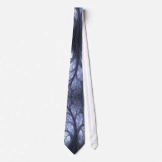 El lazo frecuentado del fractal del bosque corbatas personalizadas