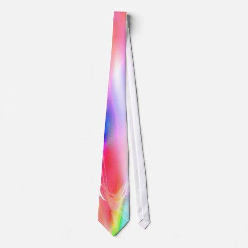 El lazo lleno de la llamarada solar del espectro corbatas