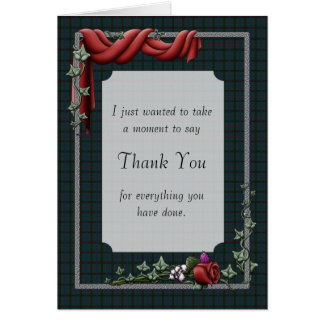 El ` le agradece cardar tarjeta de felicitación