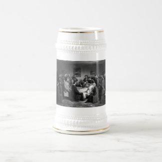 El lecho de muerte de Lincoln Jarra De Cerveza