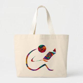 El lector - bolso de la fantasía bolsa lienzo