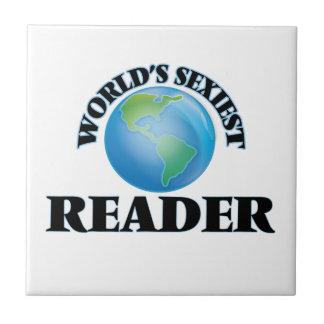 El lector más atractivo del mundo teja