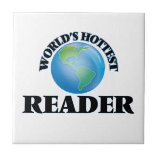 El lector más caliente del mundo teja