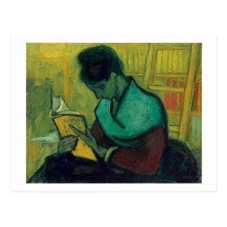 El lector nuevo, Vincent van Gogh Tarjeta Postal