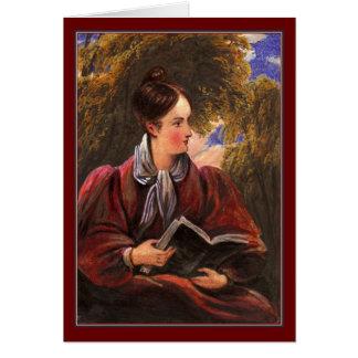 El lector romántico, alegoría de la literatura tarjetas