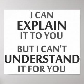 El lema del ingeniero no puede entenderlo para ust impresiones