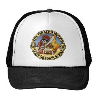 El lema del pirata gorra