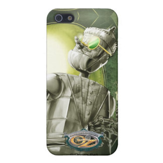 El leñador de la lata en la ciudad esmeralda iPhone 5 carcasa