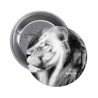 El Leo audaz y majestuoso por Geniusknight Pin