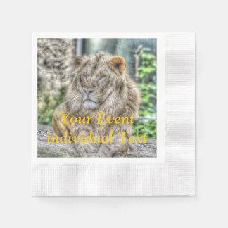El león 115 servilleta desechable