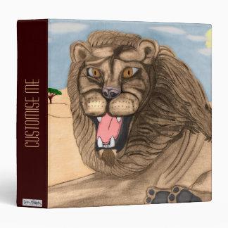 """El león carpeta 1 1/2"""""""