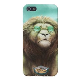 El león cobarde en la ciudad esmeralda iPhone 5 carcasas