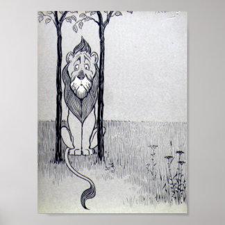 El león cobarde posters