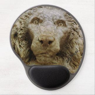El león curioso de Massa, gel Mousepad Alfombrilla Gel