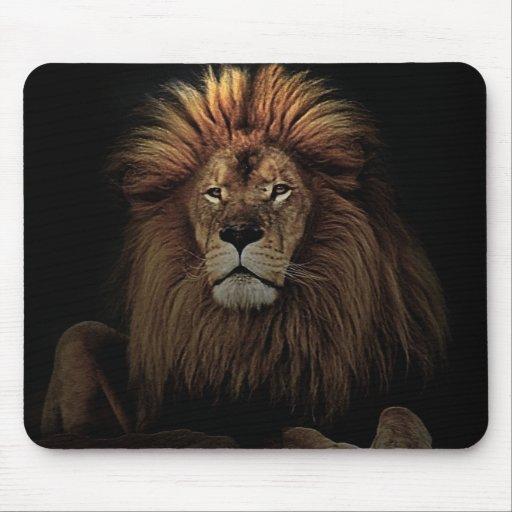 El león de oro mousepads
