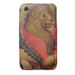 El león de St Mark (aceite en el panel) iPhone 3 Cárcasa