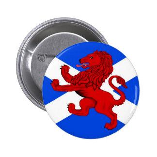 El león desenfrenado de Escocia, cruz de Saint And Pins