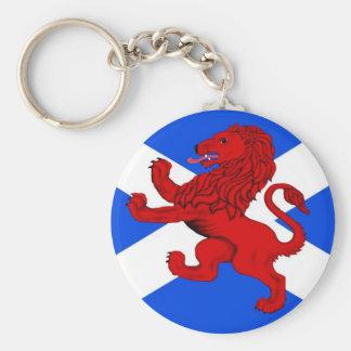 El león desenfrenado de Escocia Llavero Personalizado