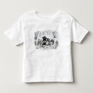 El león fuera del humor camisas