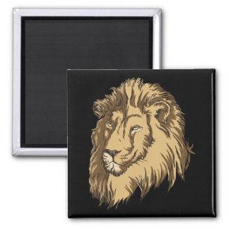El león iman para frigorífico