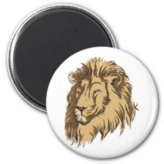 El león imanes