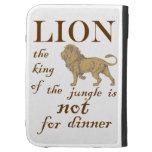 El león no está para la cena