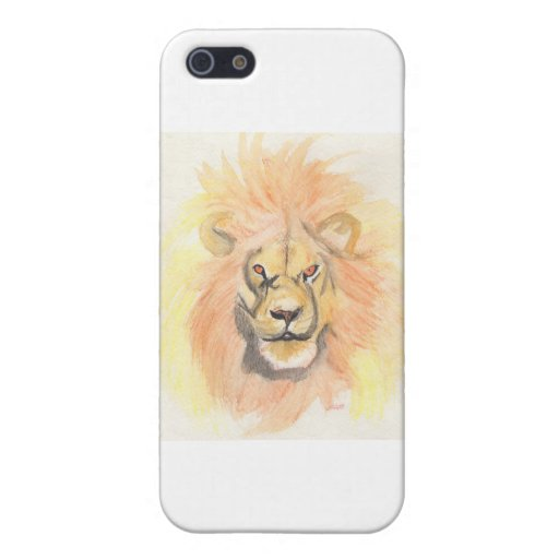 El león   primero protagoniza arte por el jrr iPhone 5 protector