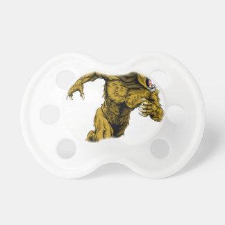 El león se divierte el funcionamiento de la chupete